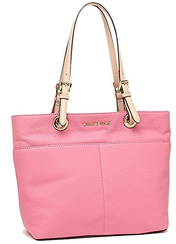 Michael Kors Women's Bedford Top Zip Pocket Tote Bag, Ultra Pink by Michael Kors