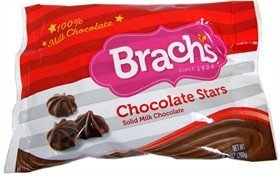 Brachs Milk Chocolate Stars 9.2 oz, Pack of 4 (Brachs Chocolate Stars)