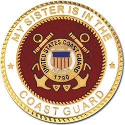 My US Coast Guard Sister Lapel Pin or Hat Pin ()