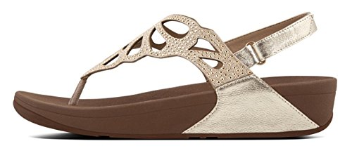 FitFlop™ - BUMBLE ™ CRYSTAL SANDAL GOLD - 36-3uk, GOLD