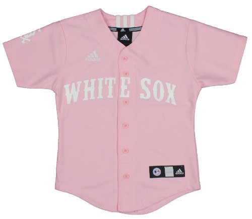 MLB Chicago White Sox Youth Pink Jersey By Adidas
