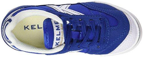 Kelme Trueno Kids, Zapatillas de Fútbol Sala Unisex Niños, Azul (Royal), 31 EU