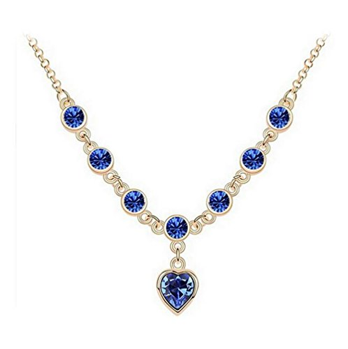 next-wed-korean-crystal-finger-the-other-end-diamond-necklace-peach-heart-flash-jewelryblue