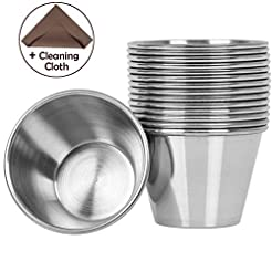 Artcome 15 Pack Stainless Steel Condimen...