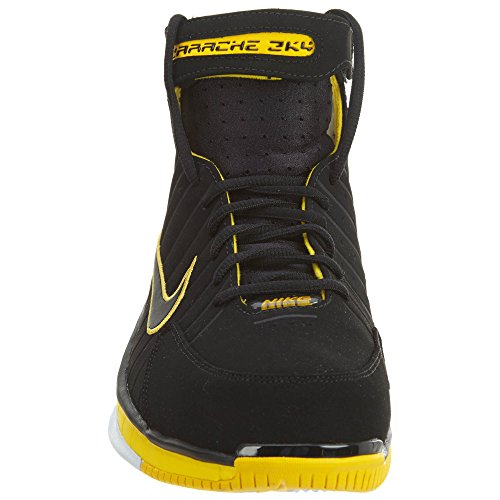 Nike Mens Air Zoom Huarache 2k4, Nero / Nero-varsity Mais-bianco