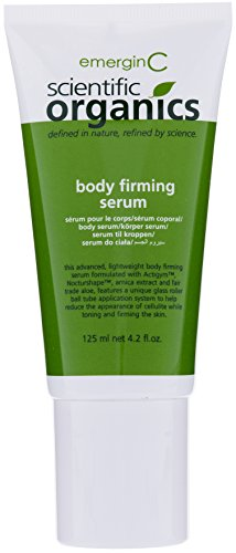 emerginC Scientific Organics - Body Firming Serum with Roller Application to Help Improve the Appearance of Cellulite (4.2oz / 125 ml)