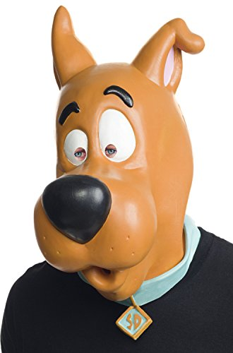 Rubie's Costume Co Men's Scooby-Doo Overhead Latex Mask, Multi, One Size