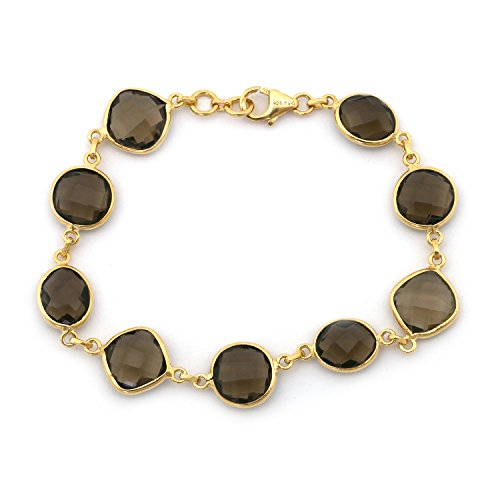 Smoky Quartz Yellow Bracelet - 2