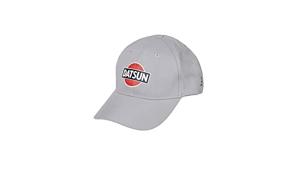 7bde76baf0baac Amazon.com: Nissan OFFICIALLY LICENSED SILVER DATSUN FITTED CAP HAT SIZED  L/XL: Automotive