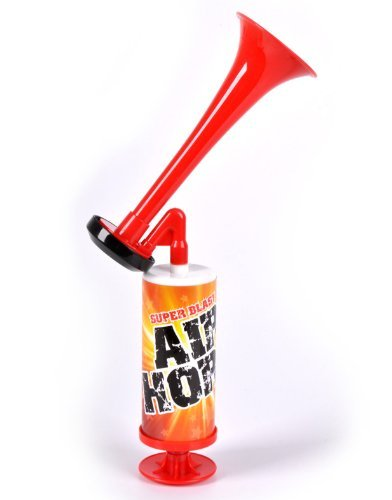 One Dr. Jordan's NEW YEARS Mini Super Blast Air Horn - make ENDLESS loud noise! (Loud Air Horns)