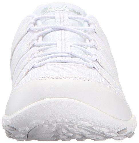 Skechers Sport Dames Stellen Zich Voor Mode Sneaker Wit