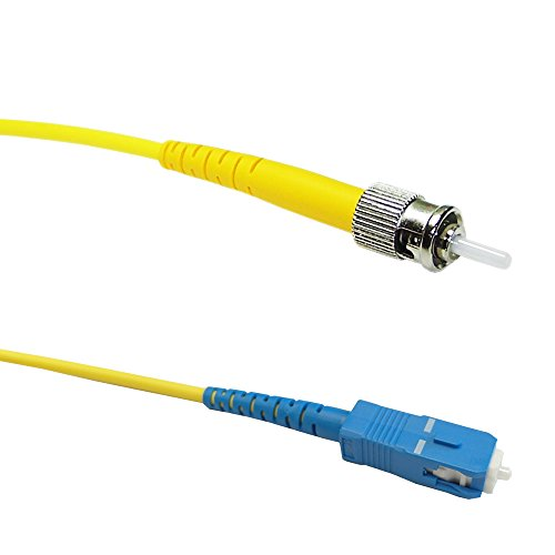 (50ft (15m) Singlemode Simplex SC/ST 9 micron Fiber Cable - 3mm Jacket )