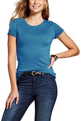 MA Womens Short Sleeve T Shirt Classic Crew Neck (07_Turquoise / Small)