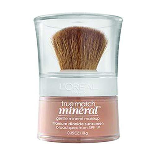 L'Oréal Paris Makeup True Match Loose Powder Mineral Foundation, Nude Beige, 0.35 oz.