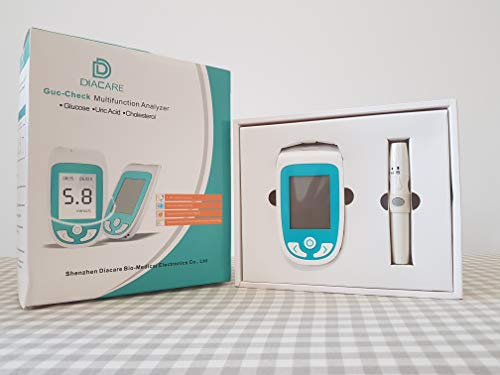 DIACARE GUC-Check Multi-Monitoring System Total Cholesterol