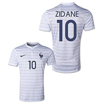 finest selection 9e577 ee011 2014-15 France World Cup Away Shirt (Zidane 10), Jerseys ...