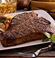 T Bone Steaks - Choose your Quantity and Size - Fresh to Your Door -Premium Angus Beef - Chicago Steak Company