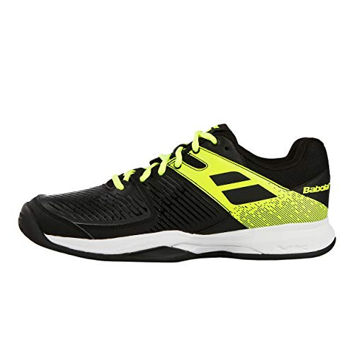 41 Hommes Chaussures Tennis Clay Terre Noir Battue Pulsion Babolat De Chaussure Citron Jaune w7BHcd