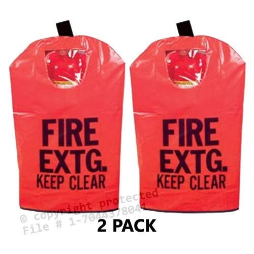 - 2 - FIRE EXTINGUISHER COVER (With Window) for 10 to 20lb. Extinguishers, Medium 25