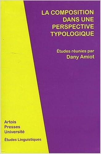 Book La composition dans une perspective typologique