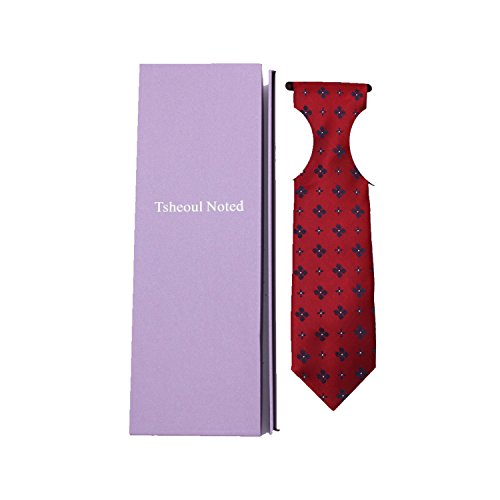 Tsheoul Noted Men's Polyester Printed Floral Neck Tie+ Gift Box by Tsheoul Noted (Image #5)
