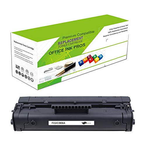 Premium Ink&Toner   Re-Manufactured Toner Cartridge Replacement for FX3(Universal with C3906A) - Standard Yield Laser Printer Cartridge Compatible with Canon, HP
