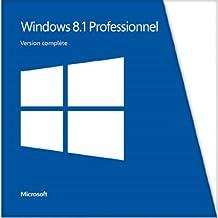 Microsoft Windows Professional 8.1 French 1 License