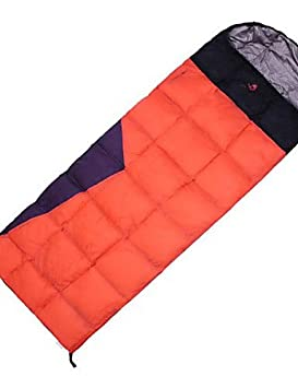 Saco de dormir rectangular bolsa única 0? plumón de pato, 550 g 210 x 75 viajar HASKY para mantener caliente, azul celeste: Amazon.es: Deportes y aire libre