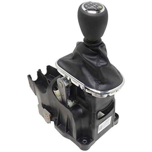 25194009 6 Speed M/T Shifter w/Black + B3 Boot Vinyl Knob 2011-14 Chevy Cruze