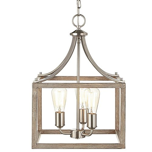 Weathered Nickel Pendant Lighting