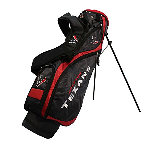 Team Golf 31127 Houston Texans NFL Nassau Stand Bag by Team Golf