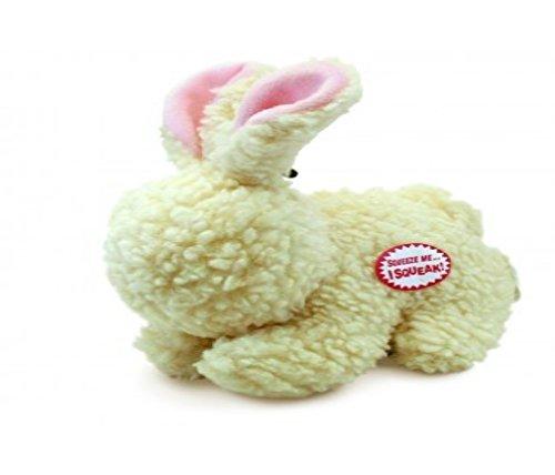 (Vermont Fleece Rabbit With Squeaker 9