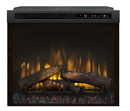 Cheap DIMPLEX DF28L-PRO Multi-Fire XHD PRO 5118 BTU / 1500W 28 Inch Wide Built-in Vent-Free Electric Fireplace with Inner-Glow Log Media and Remote Control Black Friday & Cyber Monday 2019
