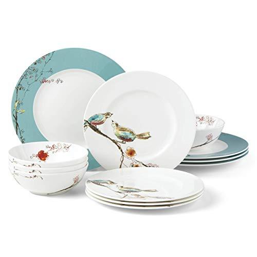 Lenox 880548 Chirp Aqua dinnerware ()
