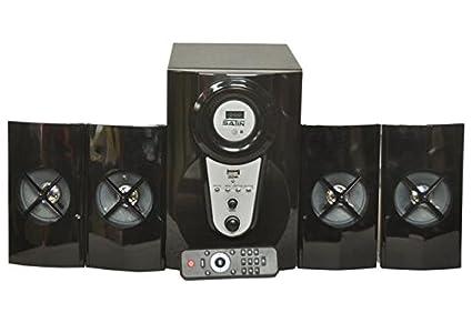 Satin 2323 4.1 multimedia speakers