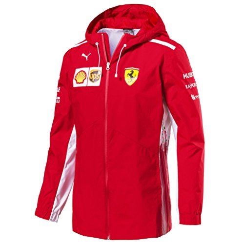 Lightweight Ferrari Jacket - PUMA Ferrari Replica Team Jacket