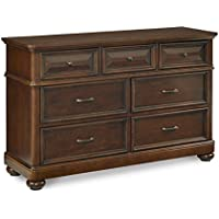 Pulaski Expedition Drawer Dresser  (Mirror Not Included)