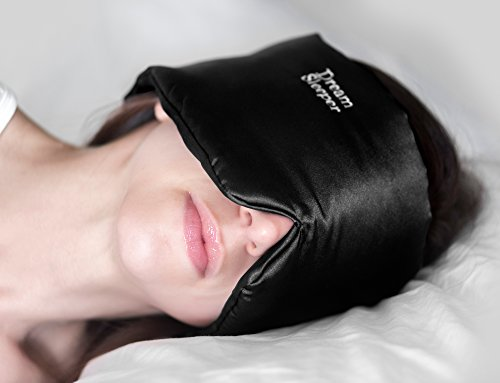 Dream Sleeper DS-Black Complete Darkness Total Black Out Sleep Mask Will Block Out 100% Of All Light, Master Your Sleep