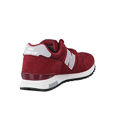 Nieuw Evenwicht Mannen M565 Klassieke Loopschoenen, Grijs Rood