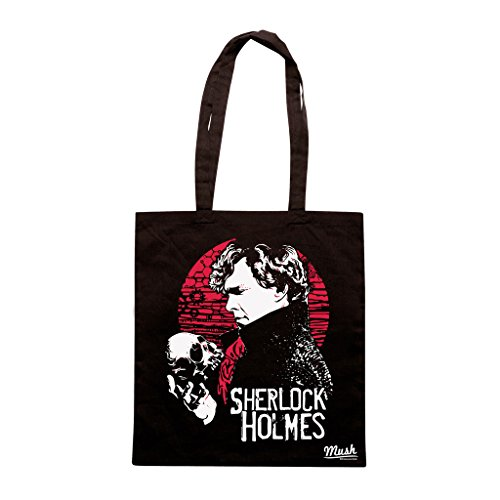 Borsa SHERLOCK TV SERIE - Nera - FILM by Mush Dress Your Style