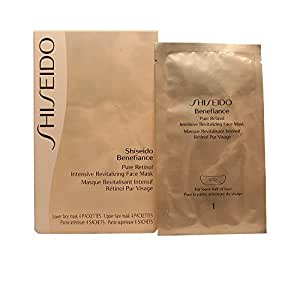 Benefiance Pure Retinol Intensive Revitalizing Face Mask by Shiseido for Unisex, 8 Count