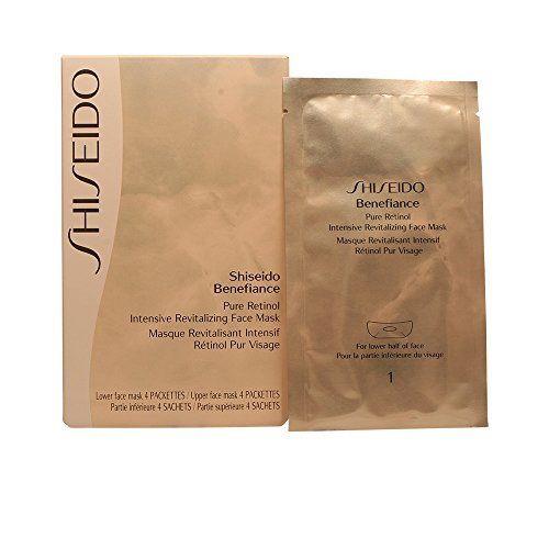 Benefiance Pure Retinol Intensive Revitalizing Face Mask by Shiseido for Unisex, 8 (Benefiance Mask)