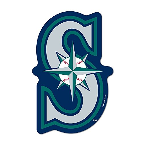 WinCraft MLB Seattle Mariners Logo on The GoGo Decals, Team Color, One ()