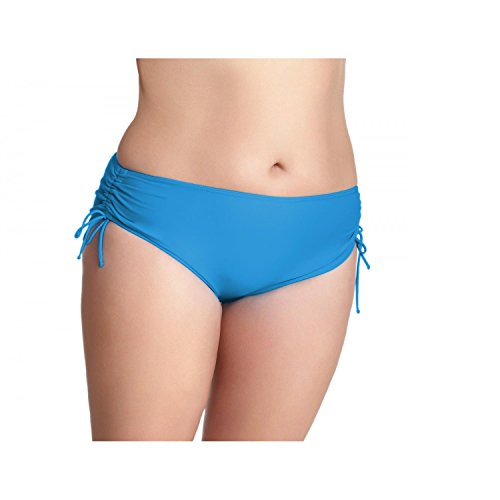 Aquarti Damen Bikinihose mit Raffungen Bikinislip Panty: Amazon.de:  Bekleidung