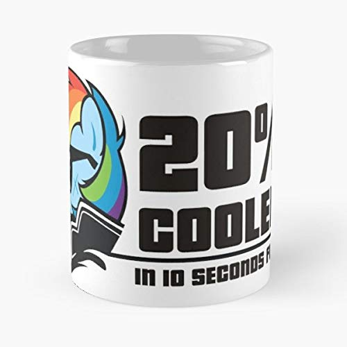 20 Cooler Rd Rainbow Dash - 11 Oz Coffee Mugs Ceramic,the Best Gift For Holidays. -
