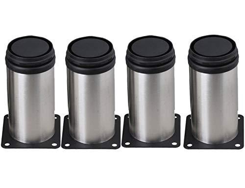 Orgrimmar Stainless Steel Adjustable Furniture Cabinet Legs Feet (4PCS) -