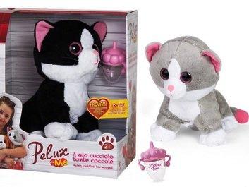 Globo Toys Globo – 36447 2 surtidos Pelux gato de peluche con accesorios