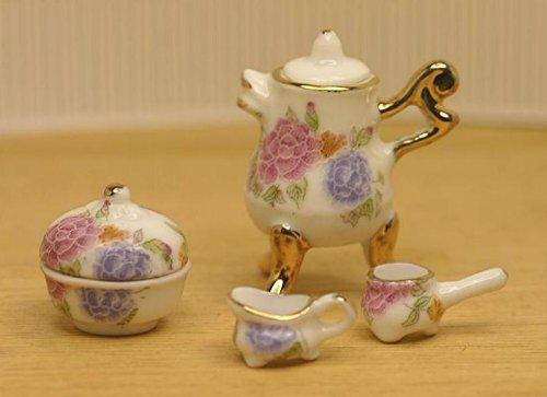 Dollhouse Miniature Samovar Tea Set, Baby & Kids Zone