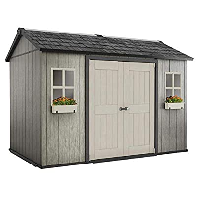 AETN-Future-Keter-Oakland-My-Shed-11ft-x-7ft-6-Inch-34-x-23m-Side-Door-Shed-A-Waterproof-Outdoor-Lockable-Garden-Storage-With-Plastic-Wooden-Design-And-Flooring-Perfect-Shed-For-Small-Spaces