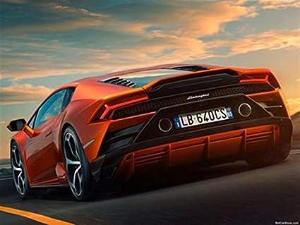 Amazon Com Lamborghini Huracan Evo 2019 Poster 18 X 24